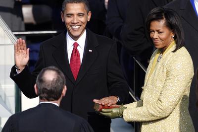 オバマ大統領就任式(2009年1月20日)