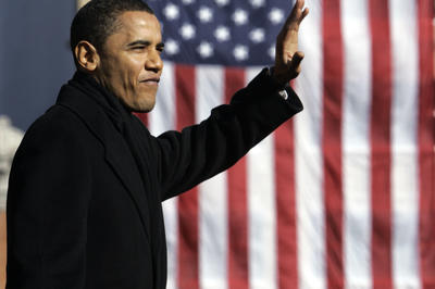 バラク・オバマが大統領選立候補(2007年2月10日)
