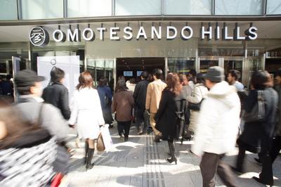 表参道ヒルズがオープン(2006年2月11日)