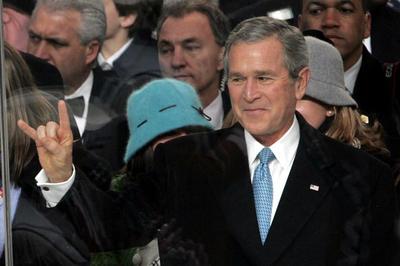 ブッシュ大統領2期目就任式(2005年1月20日)