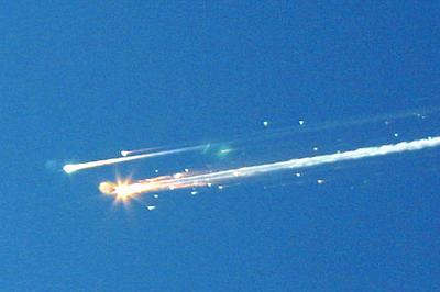コロンビア号空中分解事故(2003年2月1日)