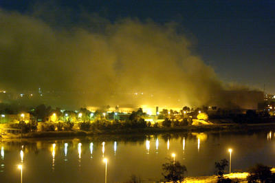 イラク戦争開戦(2003年3月19日)