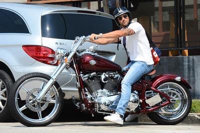 セレブとバイク