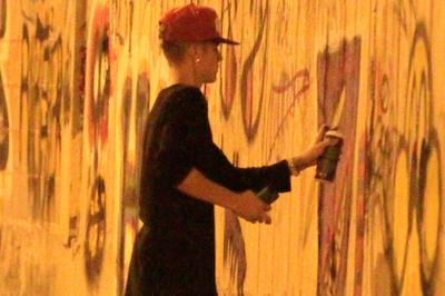 リオにて壁に落書き騒動!