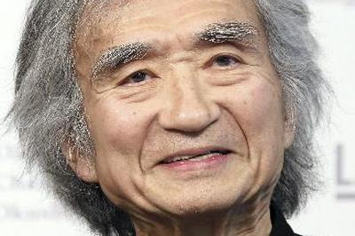 小澤征爾氏が初受賞