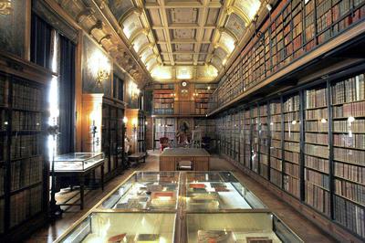 シャンティイ城 図書館(フランス)