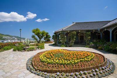 長崎で亀山社中を結成: グラバー邸 (長崎県)