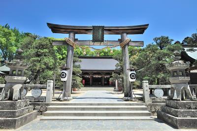 松陰神社(山口県・萩市)