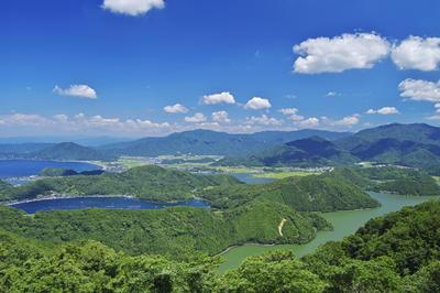 三方五湖(福井県美浜町 、若狭町)