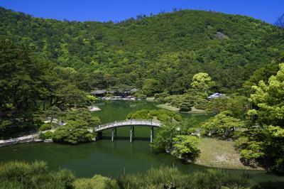 栗林公園(香川県高松市)