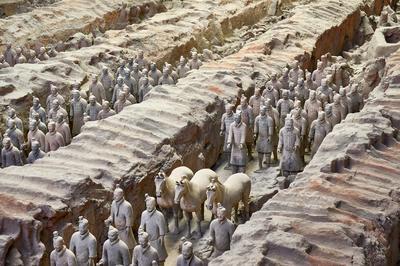 始皇帝陵と兵馬俑