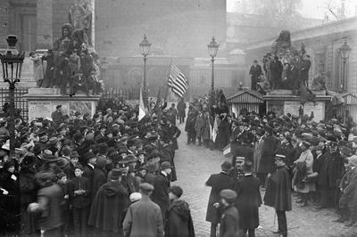第1次世界大戦が終結(1918年11月)