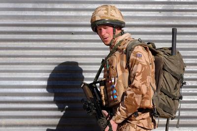 兵士として アフガン従軍など