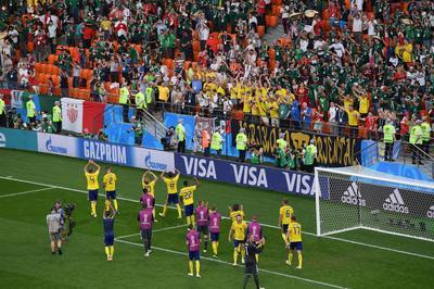 メキシコ 0-3 スウェーデン