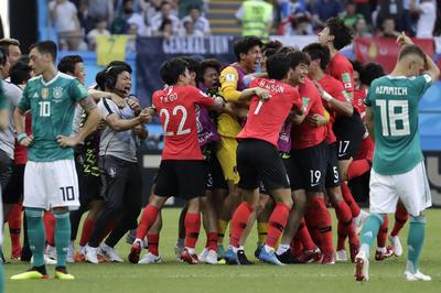 韓国 2-0 ドイツ