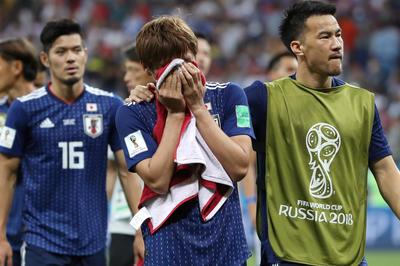 ベルギーに逆転負けの日本