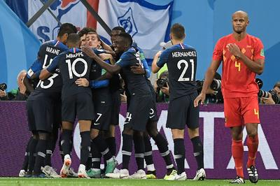 フランス 1-0 ベルギー