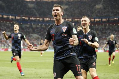 クロアチア 2-1 イングランド