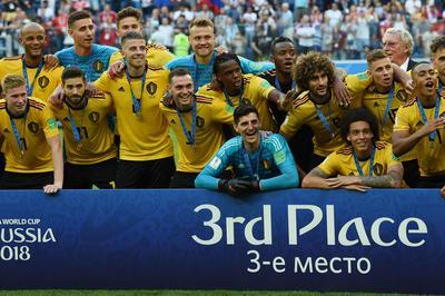 ベルギー 2-0 イングランド