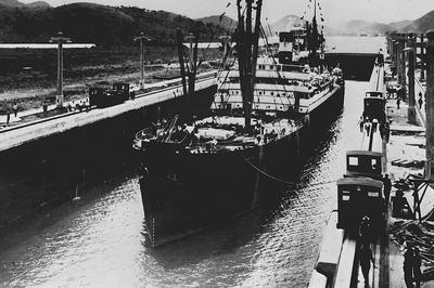 【パナマ運河開通】
