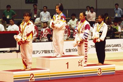 田村亮子(1994年広島アジア大会)
