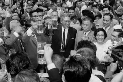池田勇人が再選(1962年7月14日)
