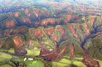 北海道で震度7の地震