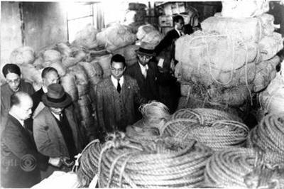 隠退蔵物資事件を世耕議員が暴露(1947年)