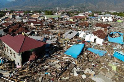 【9月】インドネシア M7.4地震と津波
