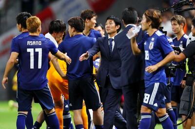 日本代表 監督としての初陣