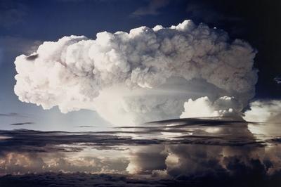 アメリカ人類初の水爆実験(1952年)