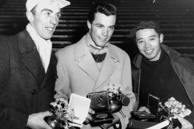 猪谷千春が冬季五輪で日本初のメダル(1956年1月)