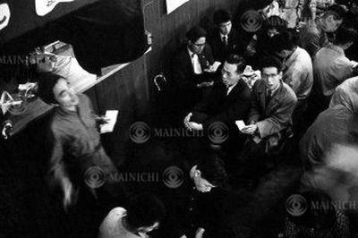 歌声喫茶が人気に(1959年)