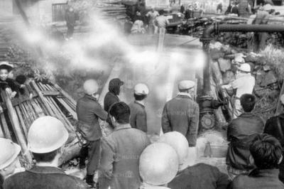 福岡県上清炭鉱で火災(1961年3月)