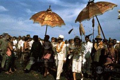 皇太子ご夫妻が東南アジア訪問(1962年)