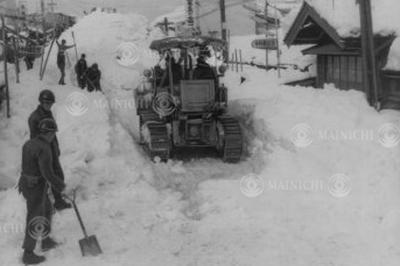 昭和38年1月豪雪(1963年1月)