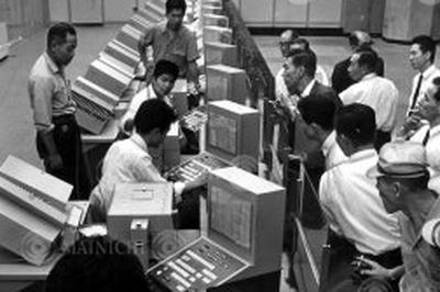 国鉄がみどりの窓口開設(1965年)