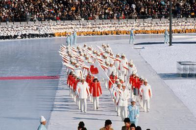 札幌五輪開催(1972年2月)