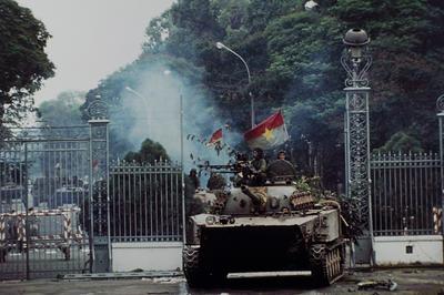 ベトナム戦争、サイゴン陥落(1975年4月)
