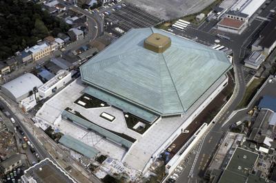 両国国技館完成(1985年1月)