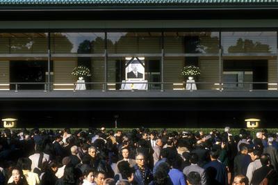 昭和天皇崩御(1989年1月)