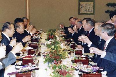 ジョージ・H・W・ブッシュ大統領が来日(1992年1月)
