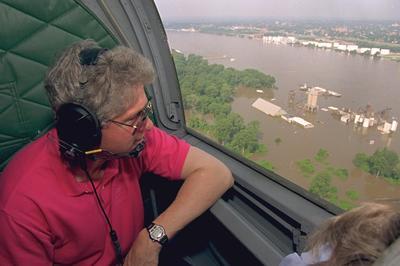 アメリカ中西部で大洪水(1993年)