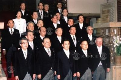 橋本内閣発足(1996年1月)