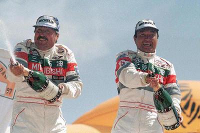 ダカールラリー、篠塚建次郎が日本人初の総合優勝(1997年1月)