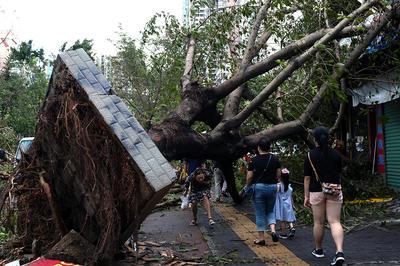 【9月】台風「マンクット」