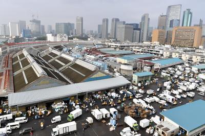築地市場、83年の歴史に幕