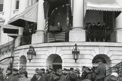 ルーズベルト大統領、4期目が開始(1945年1月)
