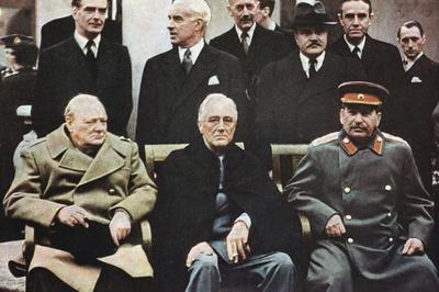 ヤルタ会談(1945年2月)