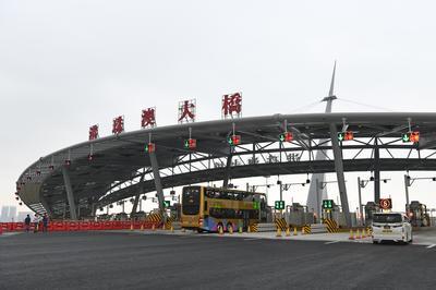 「港珠澳大橋」開通